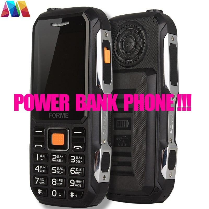 Цена за Банк силы Мобильного Телефона! FORME D111 Водонепроницаемая Пыле Противоударный 5800 мАч Сотовые Телефоны (Лучше, чем камень v3 № 1 a9