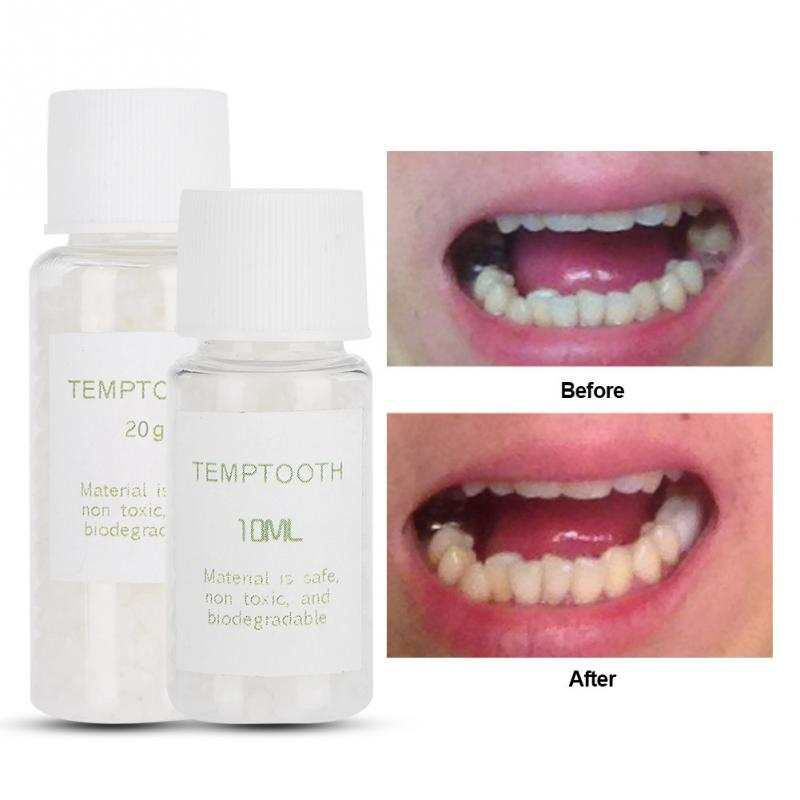Temporary Tooth Filling Material Temp Replace Missing Tooth DIY Temporary Dental Teeth Repair Kit Dental Tools dental temporary cement 1 1 polycarboxylate ne prosthetics temporary fixation material for crowns and bridges