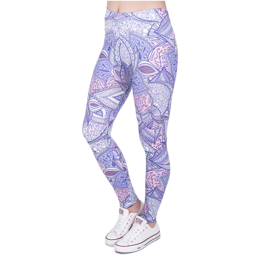 Woman Legins Aztec Jungle 3D Printing Casual Women   Legging   High Waist   Leggings