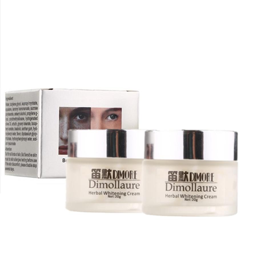 Dimollaure Whitening Cream 20g Sterk effekt Fjern melasma Freckle speckle solbrenthet Spots pigment Melanin ansiktspleie krem