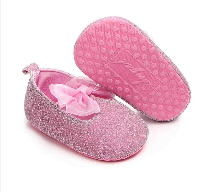 a40bc70938 Angel Brand dress baby shoe for baby girl with big lace bowknot infant girl  prewalking shoes red/pink shoes for baby girl