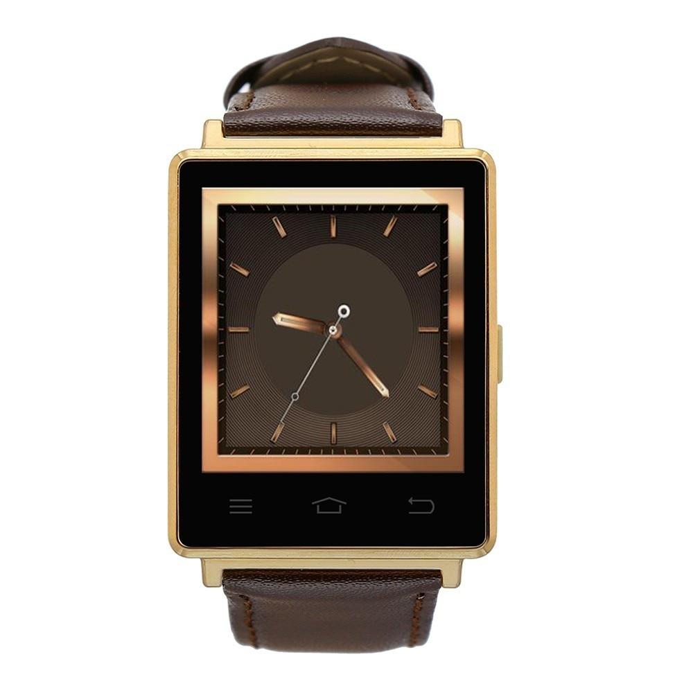imágenes para NO. 1 D6 1.63 pulgadas 3G Teléfono Smartwatch Android 5.1 MTK6580 Quad A Core 1.3 GHz 1 GB RAM GPS WiFi Bluetooth 4.0 Monitoreo de la Frecuencia Cardíaca