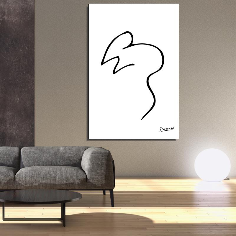 Compare prices on pablo picasso oil paintings online for Minimalist living with kids