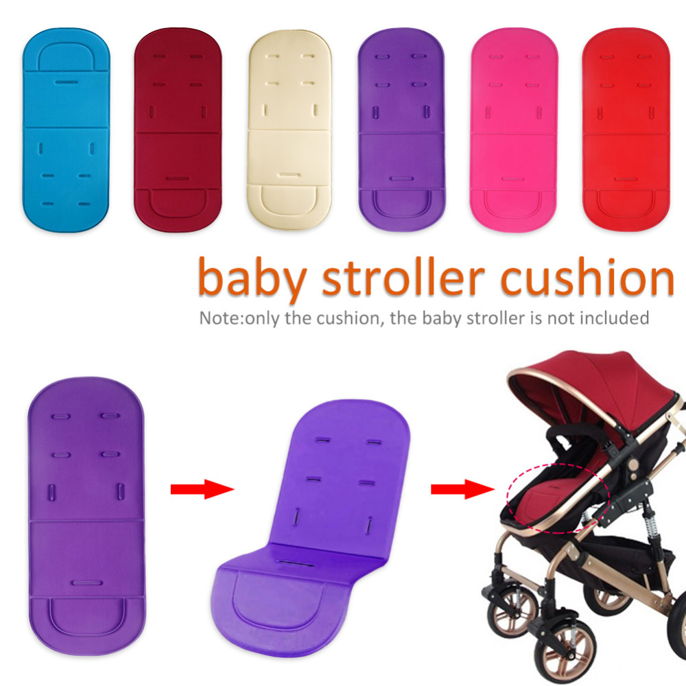 Baby Stroller Cotton Cushion Safety Seats Mat Children Baby Stroller Accessories Soft Portable Comfortable Baby Cart Seats