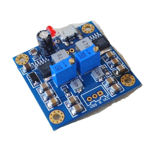 Hifi 저잡음 저 저항 단일 전압 포지티브 및 네거티브 전원 출력 dc12v regulated 레이트 된 전원 공급 장치 모듈
