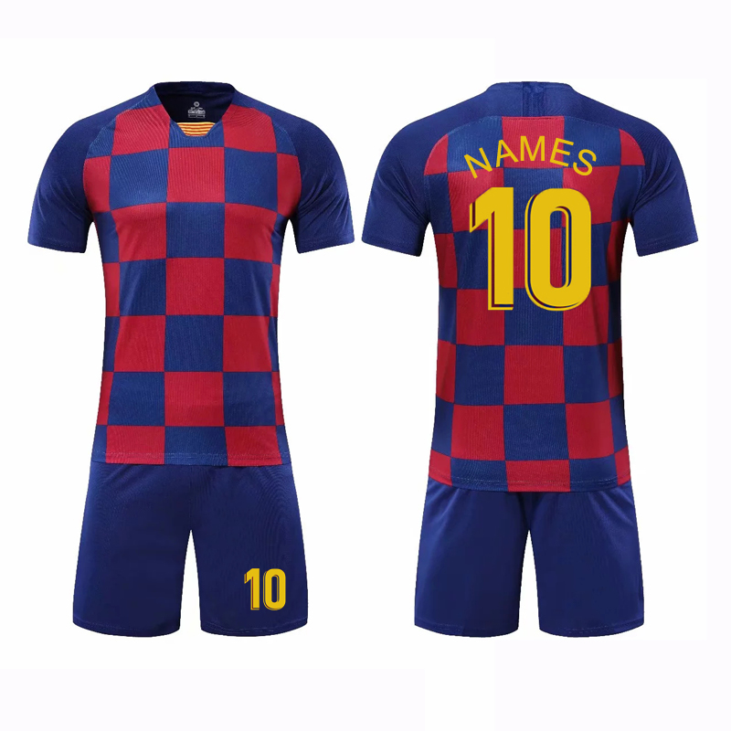 Football-Jerseys Soccer-Kits Club Custom Boys New Men For Breathable Good-Quality