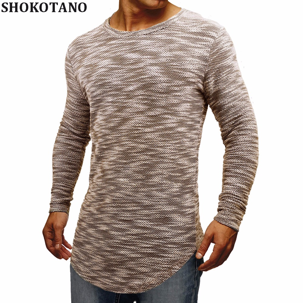 SHOKOTANO Men's Colorfull Stylish T shirt Men Sweatshirt Hip