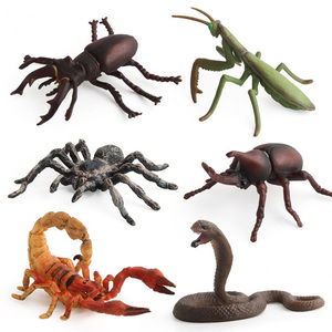 Image 2 - Simulation Cobra/Mantis/Spider Figure Collectible Toys Solid Insect Animal  Soft Rubber Toys