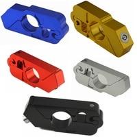 Universal CNC Aluminum Handle Grip Security Safety Locks Handlebar Handset Brake Lever Lock Fit Scooters ATV