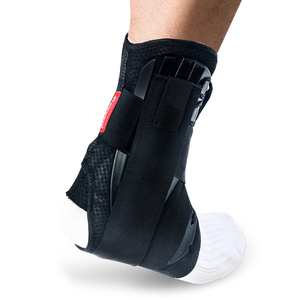 Image 2 - Kuangmi Ankle Brace Support Sports Adjustable Ankle Straps Foot Stabilizer Orthosis Football Compression Ankle Socks Protector