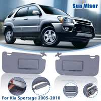 Car Inner Sunvisor Sunshield Sun Visor Shield Shade Board With Mirror For KIA Sportage 2005 2006 2007 2008 2009 2010