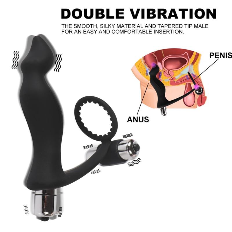 vibración de la próstata
