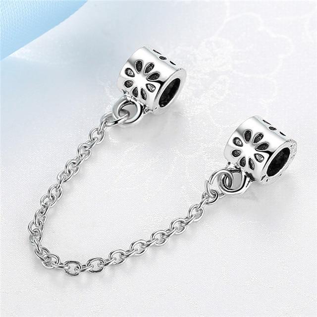 cb0691998 ... sale jclowsexy free shipping new 2017 safety chain bead fit pandora  women bracelets bangles diy beads