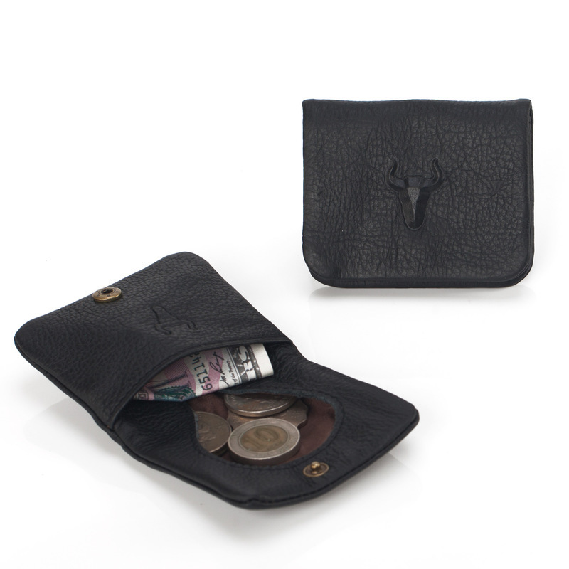 Coin Purse Genuine Leather Hasp Small Purse Short Coin Wallets Mens Leather Coin Purses for Women & Men 117 bosca old leather coin purse