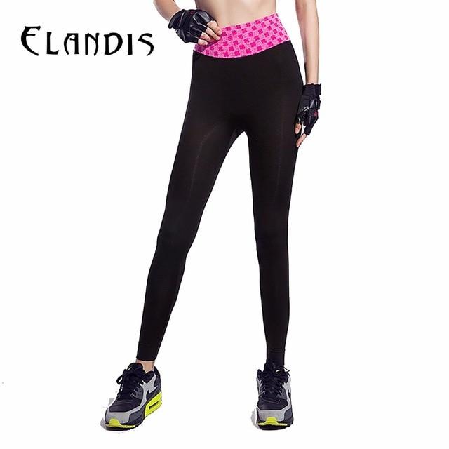 3600e37d76e FLANDIS Print Yoga Pants Plus Size Sport Leggings Patchwork Fitness Women  Workout Trousers Tight Running Quick