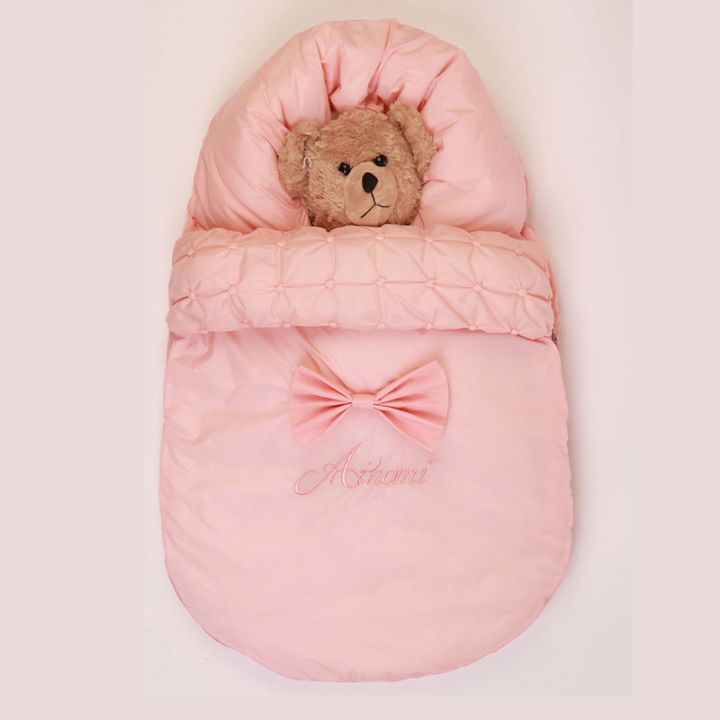 Original baby stroller sleeping bag fit for 0-1 year 95% cotton thick Newborn Infant Envelope Warm sleepacks footmuff stroller infant baby sleeping bag baby blankets quilt thick natural cotton sleeping bag detachable sleeves newborn swaddling clothes