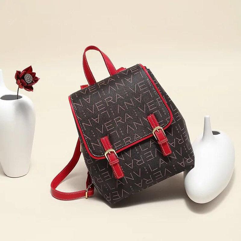 Hot Fashion Design Women Backpack High Quality Youth Leather Backpacks for Teenage Girls Female School Shoulder Bag Bagpack moch