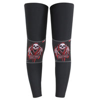 BATFOX No Slip Cycling Leg Warmer Bike Bicycle Guards Knee Warm Sleeves Covers Windproof Size S