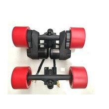 Аксессуары для электрического скутера двойной привод шестерня с наружным зацеплением ремень двойной мотор N5065 комплект с грузовиком power group 83 мм электроколесо