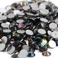 Rainbow 1440 pcs SS8 Não Hotfix Pedrinhas 2.3mm cristal Prego flatback Art Pedrinhas
