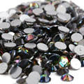 SS8 Rainbow 1440 unids cristal de Hotfix del rhinestone no 2.3mm Nail Art Piedras flatback