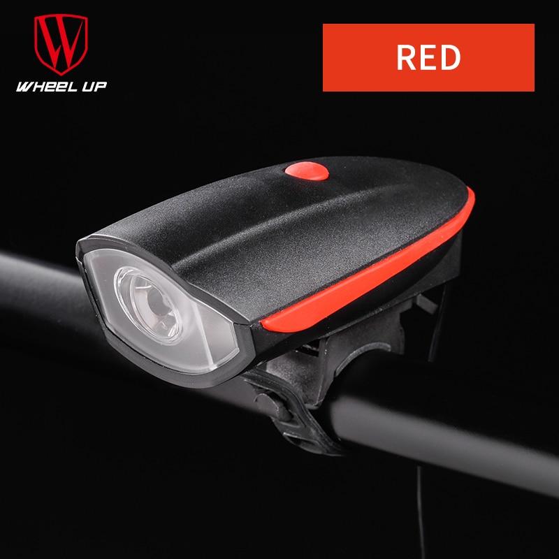 Kotač USB Punjenje 240 Lumen IPX4 Električni rog Bicikl Noćna - Biciklizam - Foto 6