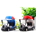 Red/Blue Electric Mini RC Car 1:43 Golf Cart Buggy Model Toy with Light Mini Remote Control Car For Children Kids Gift