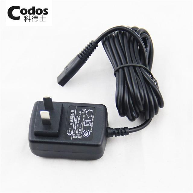 Adaptador De Corriente Original para Codos T8/CHC-910/912/916/960/961/968/330 condensador de ajuste del pelo 100-240 V 50/60Hz 3.4 V Enchufe de Energía Del Cargador