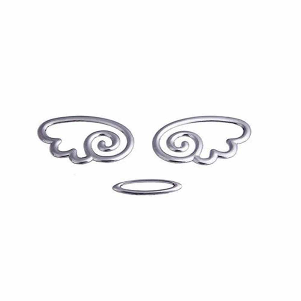 Aliauto 3D Автомобильная наклейка s Angel Wings Наклейка на багажник мотоцикла забавное украшение автомобиля для Volkswagen Polo, Golf Nissan Benz Toyota Mazda Lada