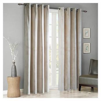 Moderne solide velours rideaux occultants pour salon chambre doux confortable stores fen tres rideau taille personnalis
