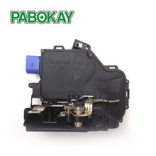 For VW Golf Mk5 2003-2009 Rear Left Passenger Side Door Lock Mechanism 3D4839015A 7L0839015D 7L0839015E 7L0839015 7L0839015A(China)