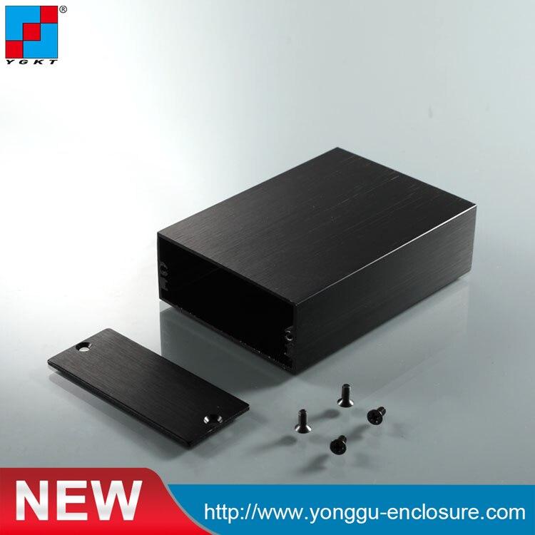 YGK-004 58*24-80mm (WxH-L) Diy Aluminum Enclosure/aluminum Project Box Enclosure/aluminum Extrusion Profile Custom Enclosure