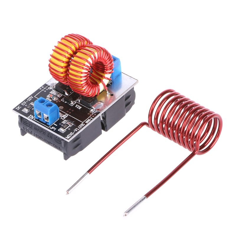 MEXI 5-15V 150W Mini ZVS Induction Heating Board Flyback Driver Heater Ignition Coil Home Kitchen Appliances Accessories Parts