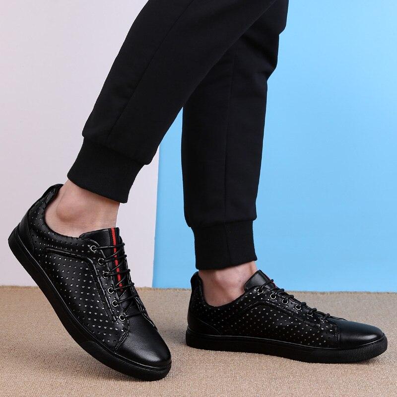 Dos Homens Primavera Preto Da Northmarch Casuais Luxo Zapatillas Respirável Genuíno Sapatos Couro Preguiçosos Mens Mocassins De Marca I41qYw4
