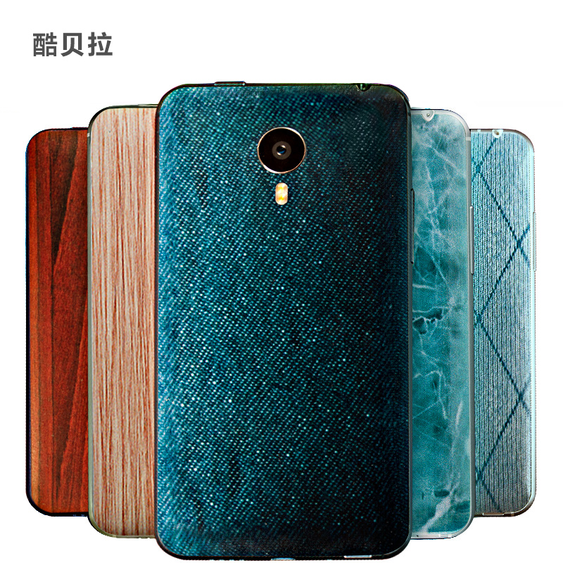 New Design Fashion Battery Back Cover Case For Meizu Mx4 Mx 4 Mobile Phone 3d Relief Personality