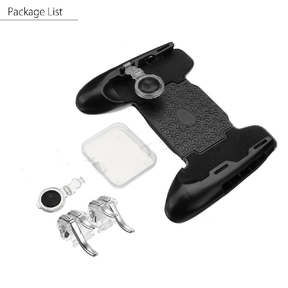 Image 5 - 3 in 1 Mobile Gaming Gamepad Joystick and Controller Trigger and Fire Button for PUBG-in Gamepads from Consumer Electronics