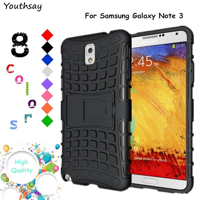 6d87392e1e9 SFor Samsung Galaxy nota 3 funda armadura de caucho duro caso de teléfono  para Samsung Galaxy Note 3 cubierta para Samsung nota 3 N900 Fundas