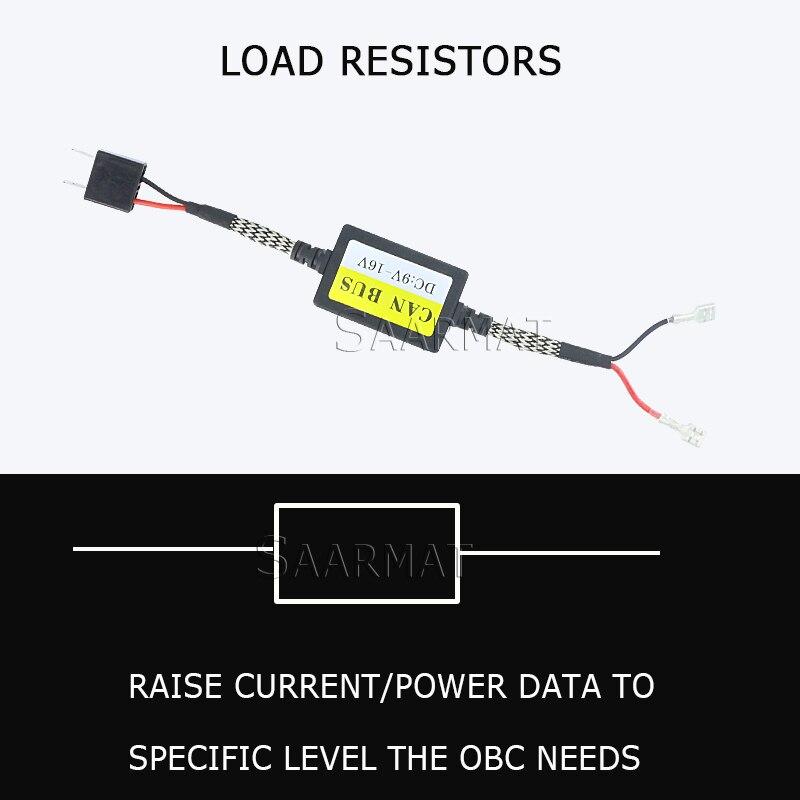 H1 H3 LED Decoder Adapter Anti Hyper Blink Flash Error Cancel Canbus Headlight