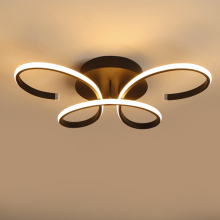 Modern creativity butterfly ceiling simple warm romantic LED lamp for bedroom living room  children study light E27