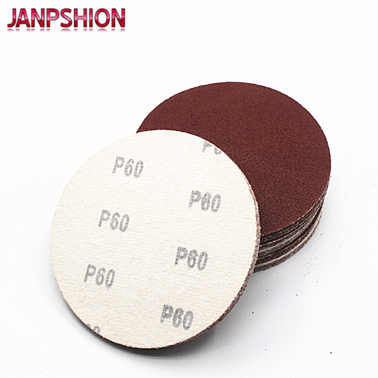 """25PC 6/"""" Hook Loop Sanding Disc with Grits 60 80 120 180 240 Sandpaper 150mm"""