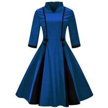Vintage Dresses With Bow and Beading Ladies Bodycon Dress V-Neck Patchwork Dress Women Plus Size S M L XL XXL XXXL 4XL женские брюки s m l xl xxl xxxl kz9012 women pants