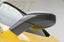 Farreri 458 Mirror Cover Carbon Fiber Mirror Cover Replacement For Farreri 458 Case For Ferrari 2010 2011 2012 2013 2014
