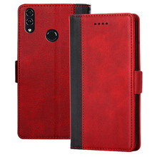 Honor 8C Leather Cases on sFor Fundas Huawei Case Coque BKK-AL10 BKK-AL00 case cover Flip wallet Phone shell