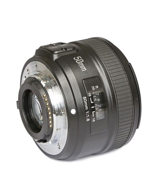 Ready Stock YONGNUO YN50mm f1 8 Prime Lens for NIKON Large Aperture Auto Focus