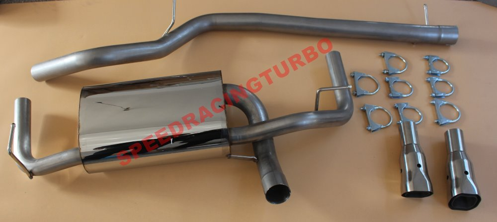 2007-2010 EXHAUST CATBACK FOR FIT JEEP EXHAUST CATBACK FOR FIT - Bahagian auto - Foto 2