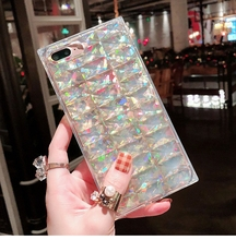 Fashion Female Colorful Bling Pattern Phone Cover Case For Iphone X Xs Max Xr 10 8 7 6 6s Plus Luxury Soft Silicone Coque Fundas