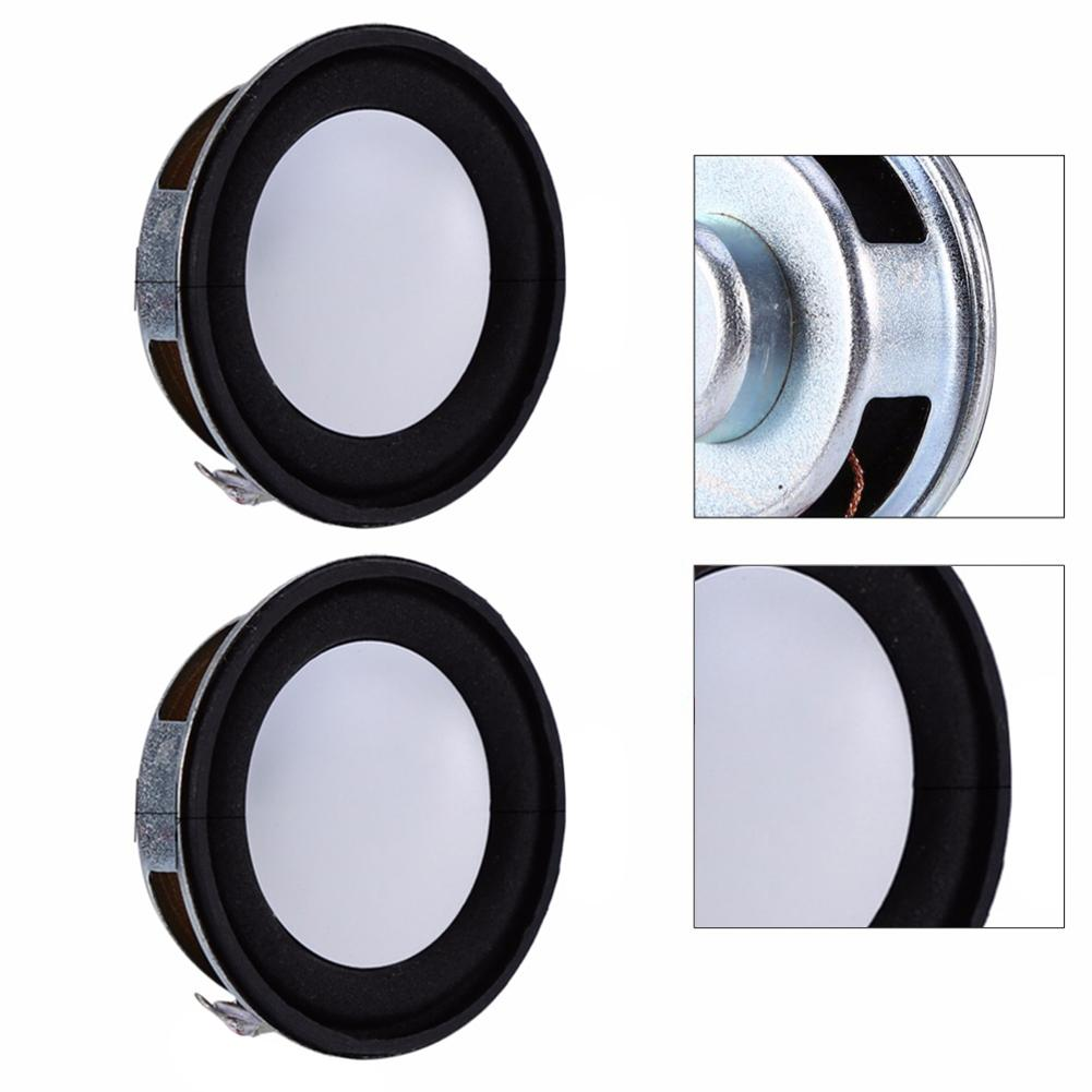 2 Pcs/Sets 4Ohm 3W 40Mm Antimagnetic Speaker Small Sound Accessories Loudspeaker Best Price Support Drop Shipping