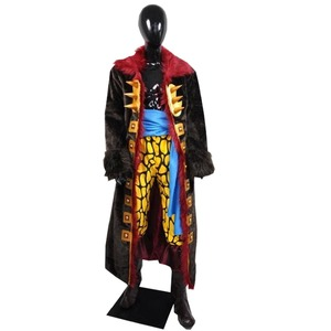 2018 Custom Made Eustass Kid Cosplay One Piece Anime Cosplay Costume(China)