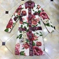Новинка 2018 Высокое качество модные платье для подиума летние платья Для женщин бренда Элитная одежда Женская одежда A08355