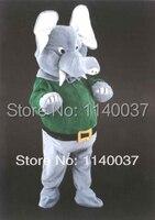 Талисман Делюкс плюшевый слон талисмана пользовательский цвет косплей костюм персонажа из мультфильма карнавальный костюм маскарадный ко